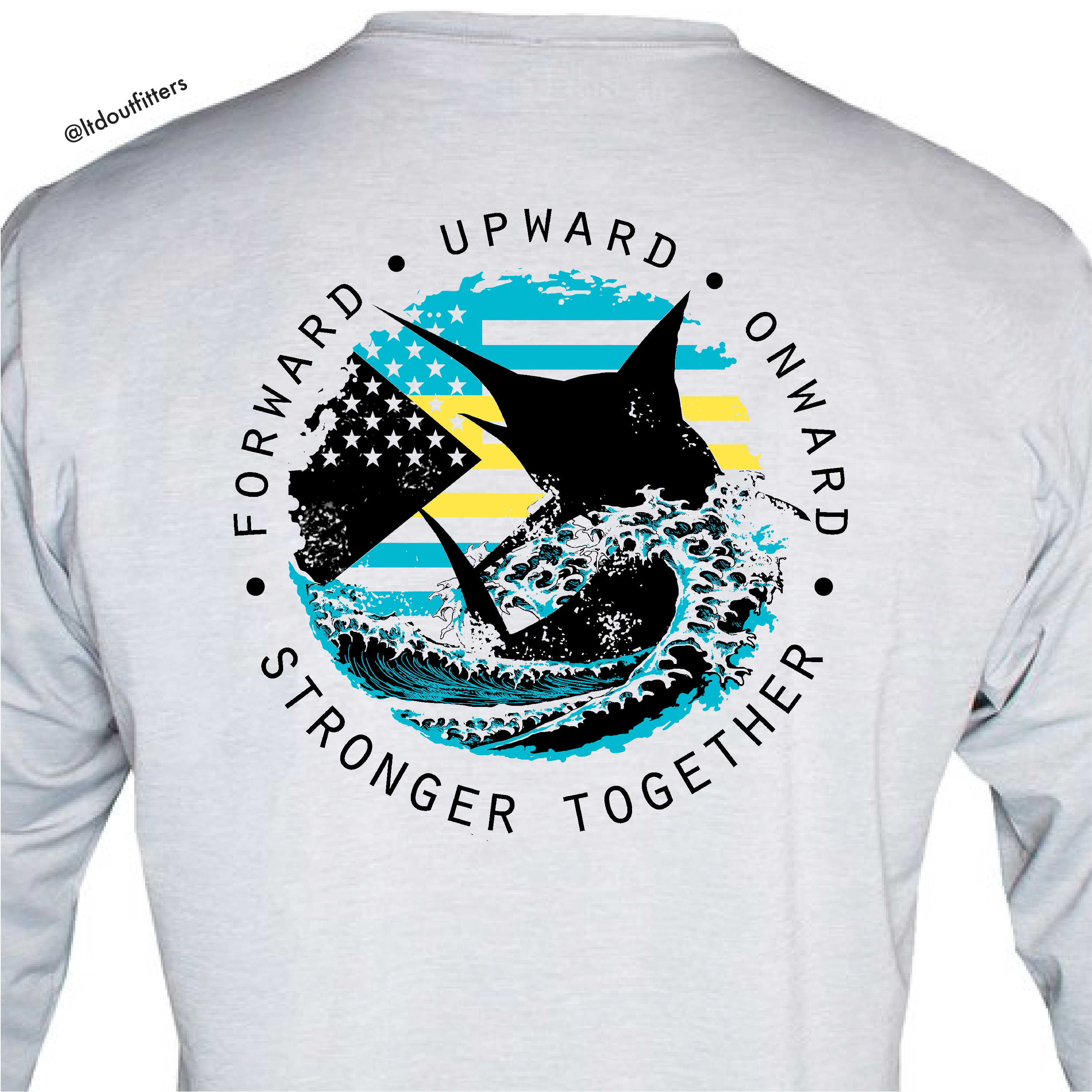 "Marlin ""Stronger Together"" Bahamas Relief Shirt"
